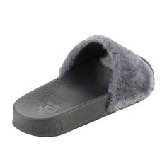 BETANI Womens Farah-1 Furry Slide Sandals * See this great product. (This is an affiliate link) #shoeoftheday