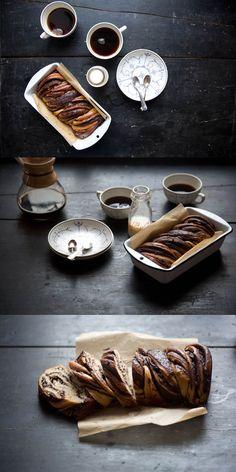 Ottolenghi's Chocolate Pecan Babka