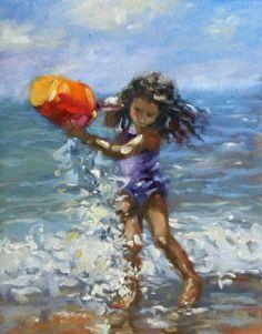 SPLASH, painting by artist Diane Mannion