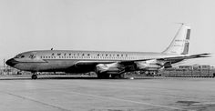 American Airlines Boeing 707-123B Astrojet N7504A at Los Angeles-International, March 1962. (Photo: Bob Proctor)