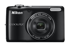 Nikon COOLPIX L26 16.1 MP Digital Camera with 5x Zoom NIKKOR Glass Lens and 3-inch LCD (Black)