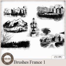 Brushes France 1 #CUdigitals cudigitals.com cu commercial digital scrap #digiscrap scrapbook graphics
