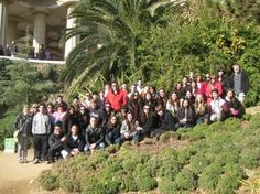 Group in Barcelona, Spain.