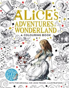 Alice's Adventures in Wonderland - get all coloring pages there for free Just click on the images to enlarge and enjoy!