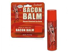 21 of the Weirdest Food-Flavored Lip Balms → Bacon and Cheetos = no thank you, but Cinnabon… mhhh