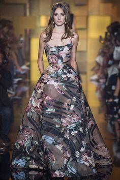 Elie Saab couture gown, Paris 2015