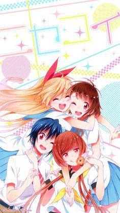 Nisekoi Wallpaper, Cute Anime Wallpaper, Anime Henti, Anime Art, Anime Military, Beautiful Anime Girl, Kawaii Cute, Kawaii Anime Girl, Manga Girl