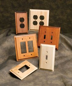 Switchplate Cover Options   Our Extensive Collection Of Wood Accents Now  Includes Wooden Switch Plate And Outlet Covers. This New Offering Is  Designed To ...