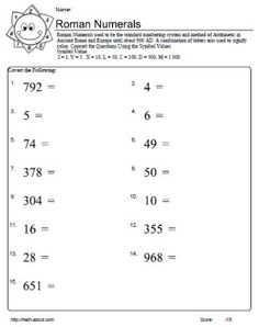 506 best tehnologi images on pinterest gain practice using roman numerals with these worksheets ibookread ePUb