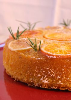 La fucina culinaria: torta di agrumi rovesciata