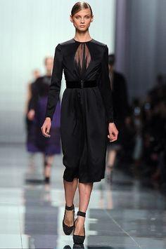 Christian Dior.  PFW A/W 12