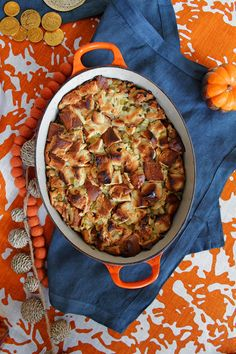 How To Make Challah-Apple Stuffing For Thanksgivukkah