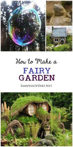 5 Tips For An Enchanted Fairy Garden