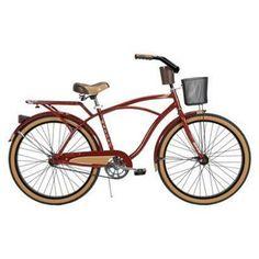 "Huffy Nassau 26"" Men's Cruiser Bike - Burgundy"