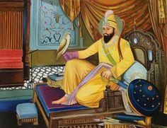 Sikh Art Handmade Gu