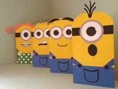 Minion Printables for Gift Sacks