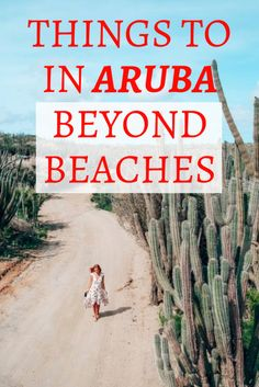 Best things to do in Aruba beyond beaches and resorts. Find out what are the top attractions in Aruba and how to visit them. Aruba Honeymoon, Bahamas Vacation, Cruise Vacation, Vacation Trips, Aruba Aruba, Aruba Caribbean, Vacation Ideas, Aruba Food, Aruba Cruise