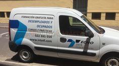 Rotulación de vehículo en vinilo de corte Van, New Job, Vans