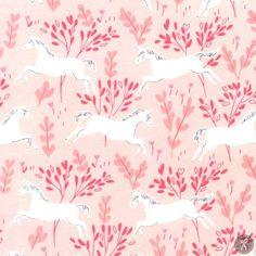 Magic! Unicorn Forest - Blossom   Quilting Fabric