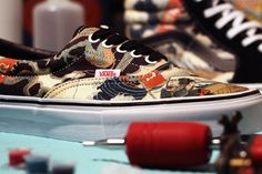 OCTOBER 28, 2013 UBIQ x VAULT BY VANS (HOLIDAY CAPSULE). Vault by Vans gets a new partner in Philly shoe store Ubiq here and the resulting creations have a definite Japanese flavour. The duo called upon the skills of renowned artist Hiroshi Hirakawa and his Three Tides tattoo shop in Osaka for this piece, modifying some ofHirakawa's artwork and slathering it across a Sk8-Hi LX …