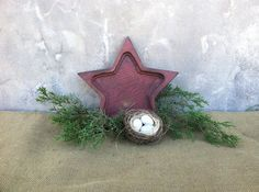 Primitives Country Decor  Rustic Home Decor  Star by TimelessNchic, $12.95 #star #wooden #distressed #primitive #americana #america #merica #rustic #country #farmhouse #frenchcountry #keyholder #candleholder #ringholder #chargerplate #cottage #upcycle #repurpose #chic