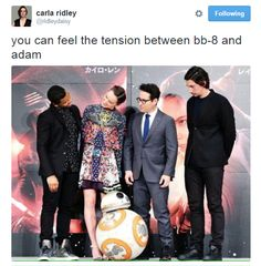 Kylo Ren's fiercest opponent is actually BB-8.