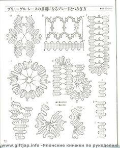 CROCHET LACE BOOK 3 - Zoranna Dildah - Picasa Web Albums bruges lace edgings
