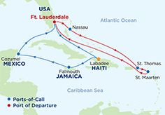 """7 Night Caribbean Cruise currently 799 and up on Royal Caribbean """"Oasis of the Seas"""" & """"Allure of the Seas"""""""