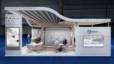 Artem Zaitsev on Behance Exhibition Stall, Exhibition Booth Design, Web Banner Design, Interior Architecture, Interior Design, Behance, Creative, Outdoor Decor, Group