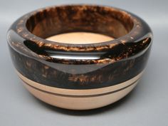 Hard Maple Wooden Bowl with a Resin Top & Inlay by colemancrafts, $75.00