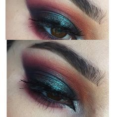 """276 Likes, 7 Comments - Julia Morgan (@juleezz) on Instagram: """"Details from today's look: @morphebrushes 35B palette and @makeupgeekcosmetics bitten.…"""""""