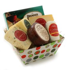 Say Cheese! Gift Basket - FREE SHIPPING (4.6 pound) $74.99