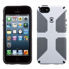 Speck iPhone 5S/SE CandyShell Grip Case - White/Black