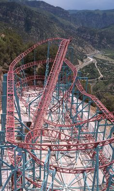 The Cliffhanger Roller Coaster at Glenwood Caverns Adventure Park will open this month! It will be the highest-elevation, full-sized roller coaster in America.
