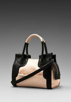 b5fb75dc0206 Shop for See By Chloe Iris SBC Small Handbag with Shoulder Strap in Bliss    Black at REVOLVE.