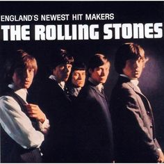 """Recorded in four days, The Rolling Stones' debut album honoured the blues and introduced the band to America as """"England's newest hit makers"""". The Rolling Stones, Rolling Stones Albums, Charlie Watts, Keith Richards, Mick Jagger, Lp Vinyl, Vinyl Records, Rare Vinyl, Classic Rock"""