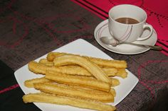 Anna recetas fáciles: Churros Crepes, Biscotti, French Toast, Cupcakes, Breakfast, Tableware, Food, Pane, Meat