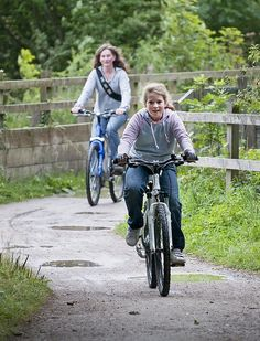 Cycling the Tissington Trail by Pedal Peak District, via Flickr