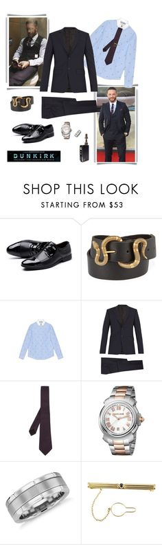 """""""Dunkirk Premier W / My ❤️"""" by shely-v ❤ liked on Polyvore featuring Gucci, Givenchy, Roberto Cavalli, Blue Nile, Cartier, men's fashion, menswear, tomhardy and Dunkirk"""