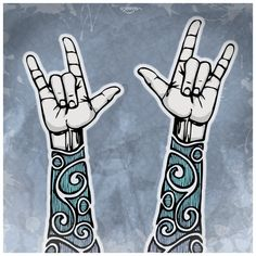 """""""I love you"""" in sign language - have seen MANY as """"art"""" as I am deaf but this one is different."""