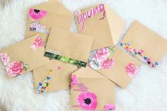 Laurel Lane: DIY Collage Envelopes