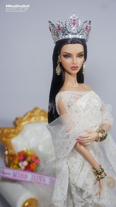 Filipino Fashion, Pageant Crowns, Diva Dolls, Glamour Dolls, Real Doll, Beautiful Barbie Dolls, Barbie Princess, Barbie World, Barbie And Ken