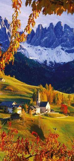 Las Dolomitas es una cadena montañosa de #Italia.