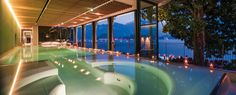 Grand Tremezzo, Lake Como Italy -  Italy's Lake Como is the spot to see and be seen and that's no different in the Grand Tremezzo's brand new TSpa. Housed in its own 18th Century Villa, the spa's piece de resistance is a sprawling relaxation area and infinity pool looking straight out at the lake. Hide away in the treatment rooms or Hammam for a few blissed out hours and then find a spot on the terrace to soak up the view.