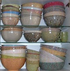 Moxie has an amazing collection of Texas Ware bowls in the splatter pattern. Some people who collect Texas Ware only look for the splatter patterns