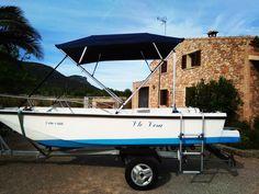 Embarcación de recreo Morrunda con Toldo Bimini Carvid Marine 4 Arcos Aluminio. Disponible en nuestra web: www.carvidmarine.com Shopping, Steel, Arches, Budget