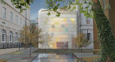 Construction has begun on Steven Holl's controversial Maggie's cancer-care centre at London's oldest hospital.