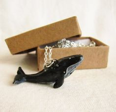Whale Necklace  Totem Jewelry With a Message by FlowerLandShop, $35.00