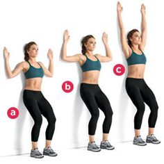 The scapular wall hold is a common isometric workout that is included in many workout routines. It helps in working the important muscles of the back and reduces the risk of injuries and strains. First Trimester Workout, Second Trimester, First Pregnancy, Pregnancy Workout, Pregnancy Test, Early Pregnancy, Pregnancy Style, Pregnancy Fashion, Pregnancy Outfits