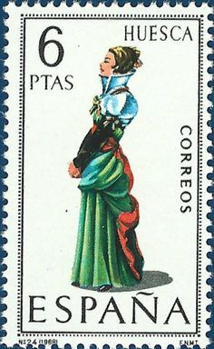 postage stamps from spain | P8 Buttons & Fabrics: Traditional Costumes…